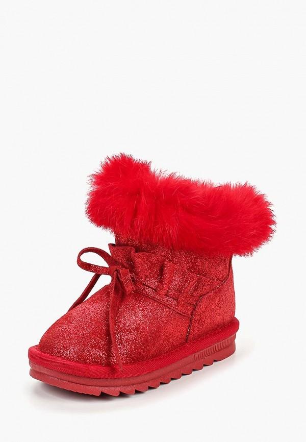 сапоги капитошка для девочки, красные