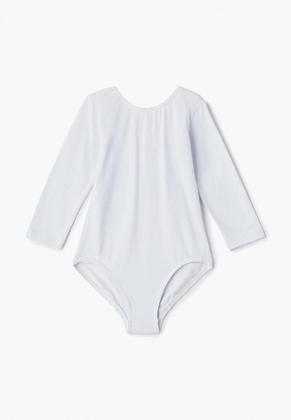 боди airobika для девочки, белые
