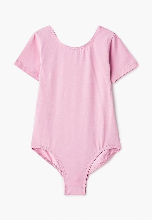 боди airobika для девочки, розовые
