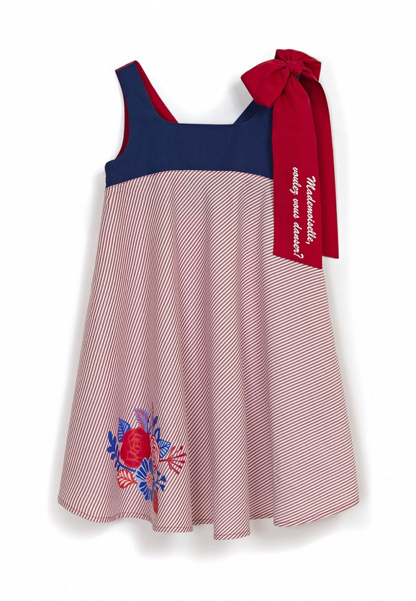 повседневные платье ёмаё для девочки, красное