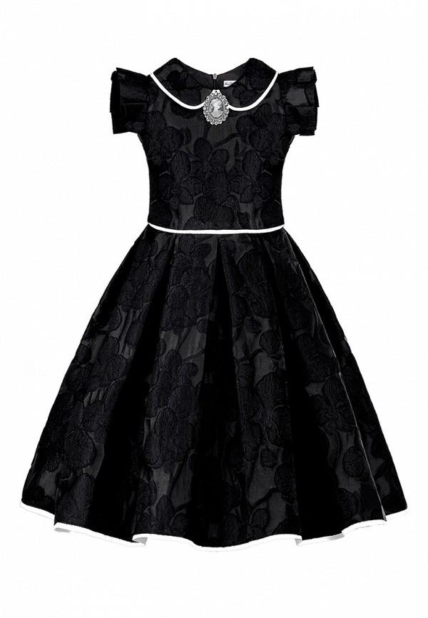 платье alisia fiori для девочки, черное