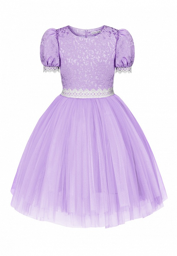 платье alisia fiori для девочки, фиолетовое