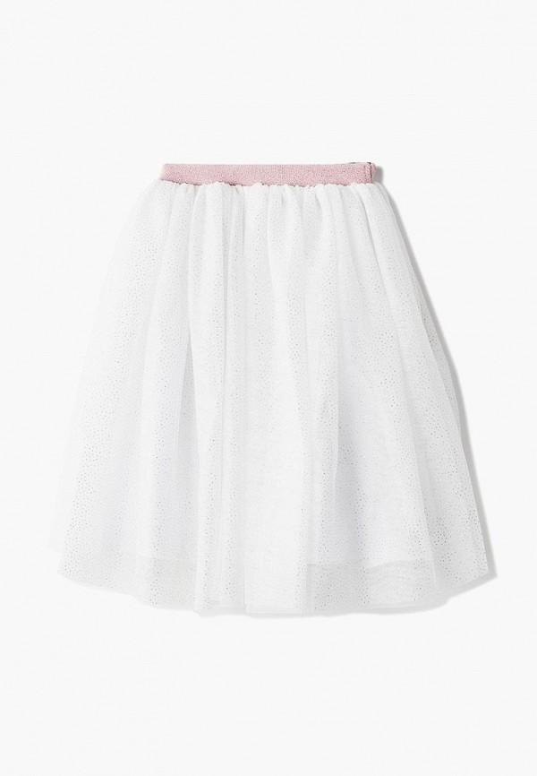 юбка pixo для девочки, белая