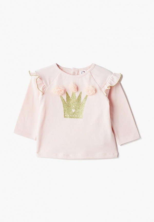 блузка pixo для девочки, розовая