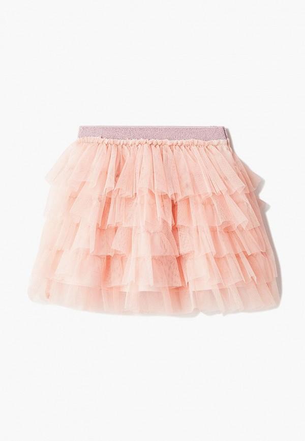 юбка pixo для девочки, розовая