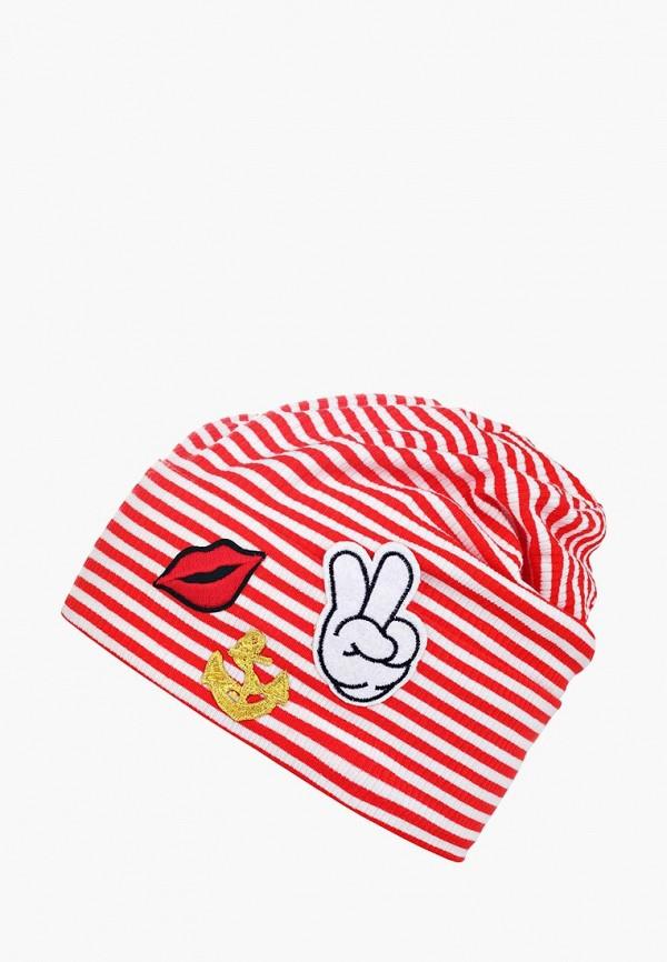 шапка bigu для девочки, красная