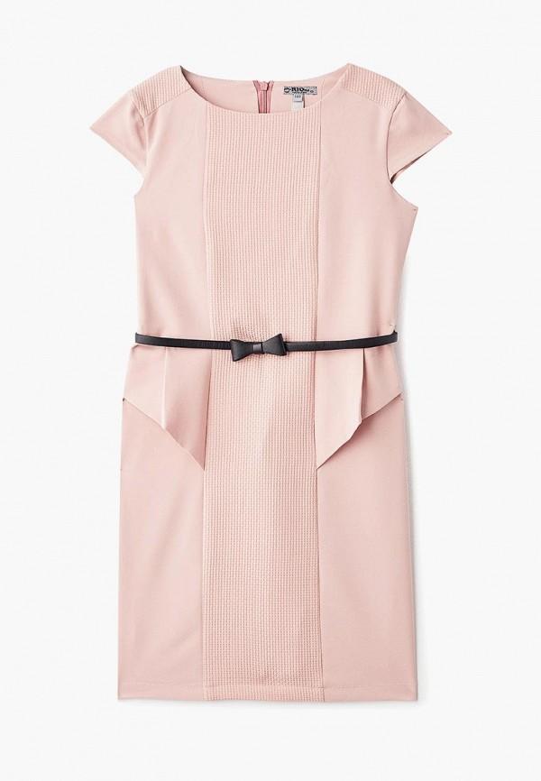 повседневные платье rionakids для девочки, розовое