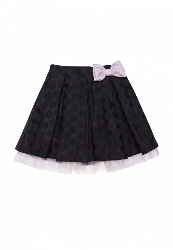 юбка cookie для девочки, черная