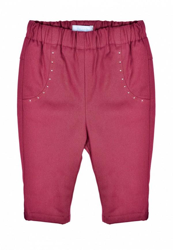 брюки бимоша для девочки, бордовые