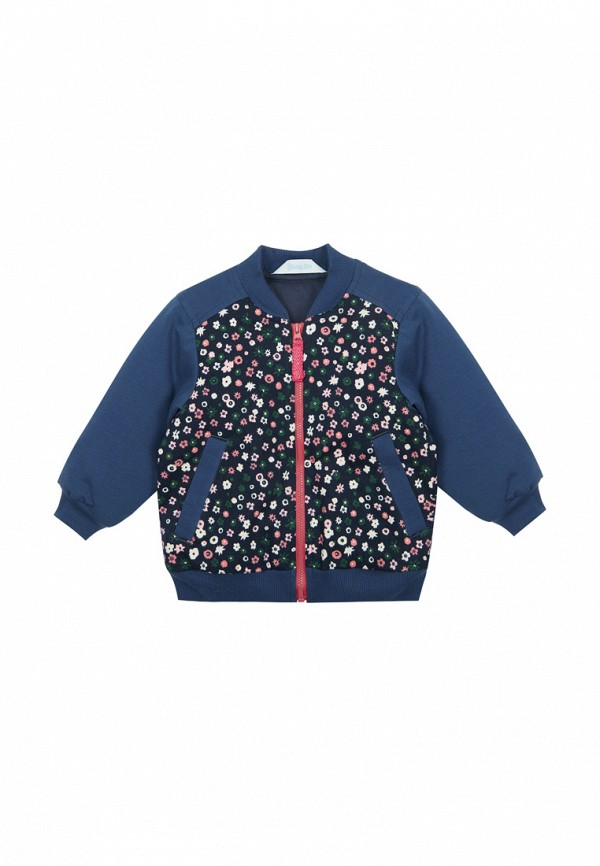 куртка бимоша для девочки, синяя