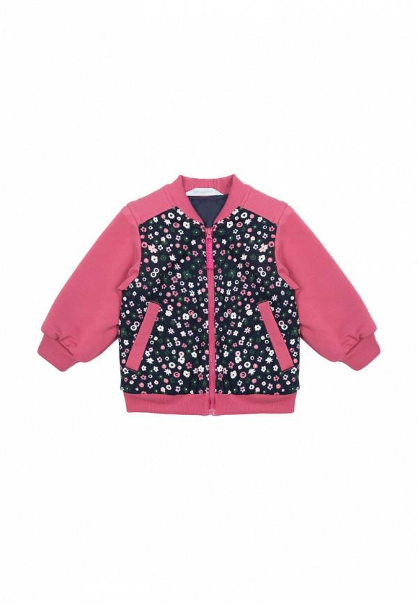 куртка бимоша для девочки, разноцветная