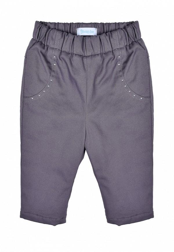 брюки бимоша для девочки, серые