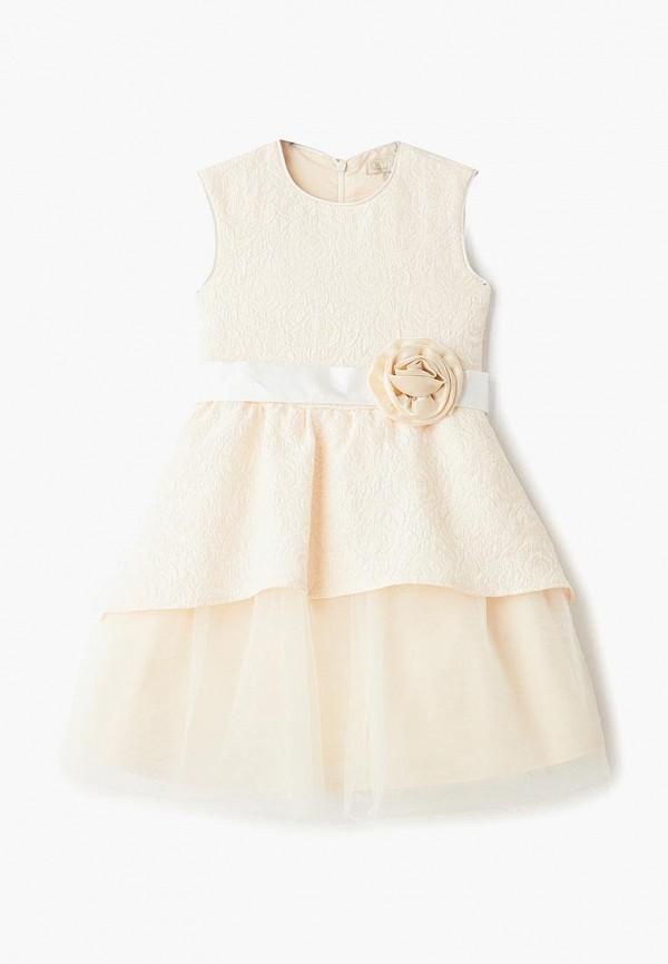 платье смена для девочки, золотое