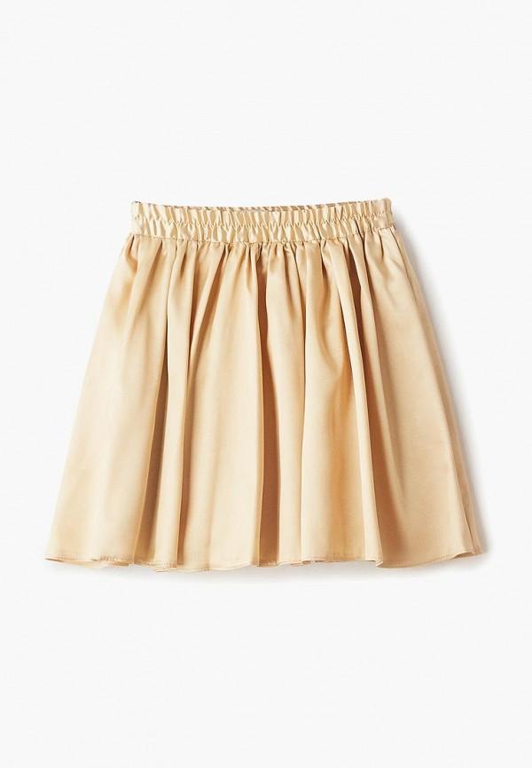 юбка смена для девочки, золотая