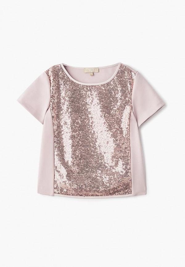 блузка смена для девочки, розовая