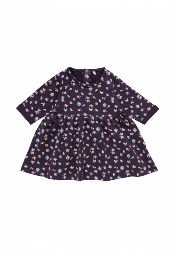 повседневные платье artie для девочки, фиолетовое