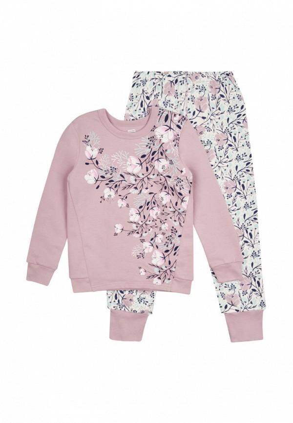 пижама ля-ля для девочки, разноцветная