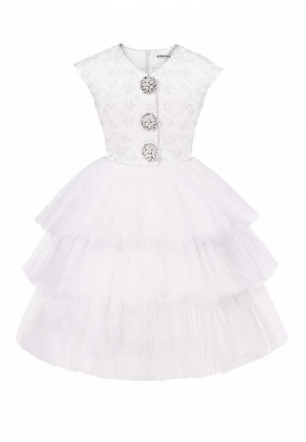платье alisia fiori для девочки, белое