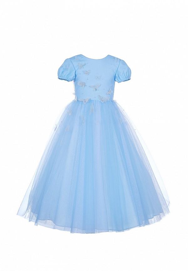 платье love story для девочки, голубое