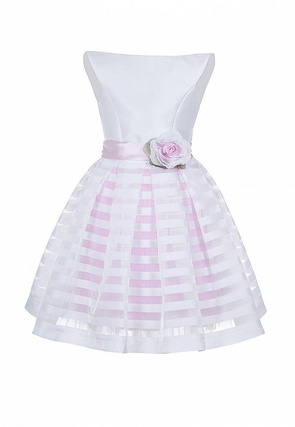 платье love story для девочки, белое
