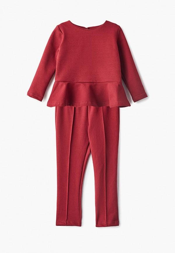 костюм archyland для девочки, бордовый
