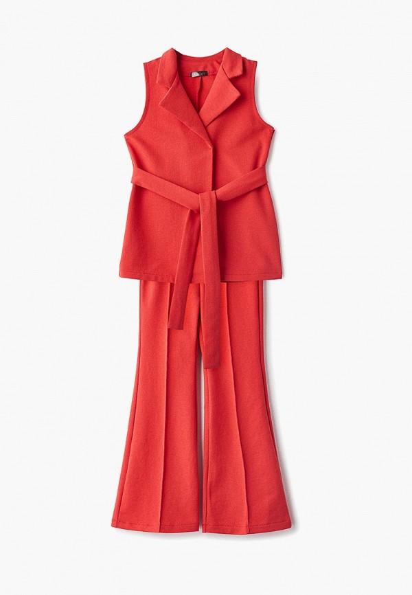 костюм archyland для девочки, красный