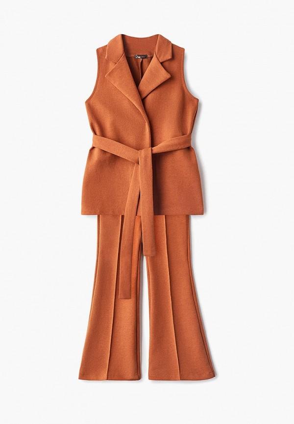 костюм archyland для девочки, коричневый