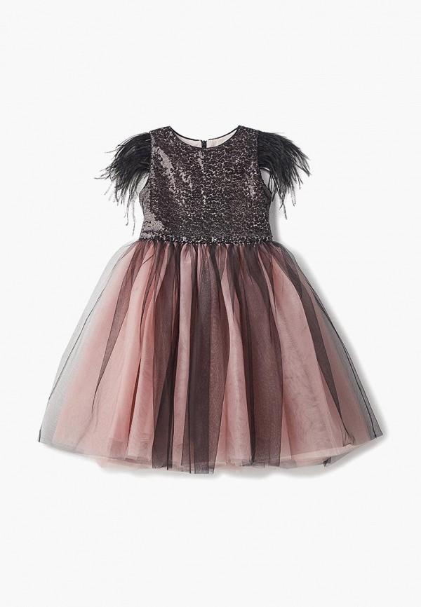 платье balloon & butterfly для девочки, черное