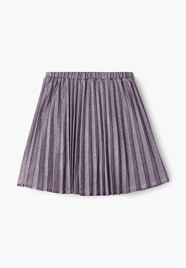 юбка zarina для девочки, фиолетовая