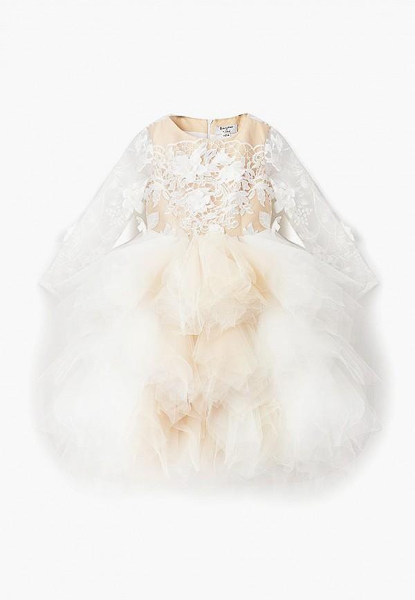 платье bonjour bebe для девочки, белое