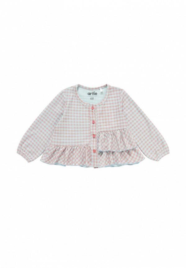 блузка artie для девочки, разноцветная