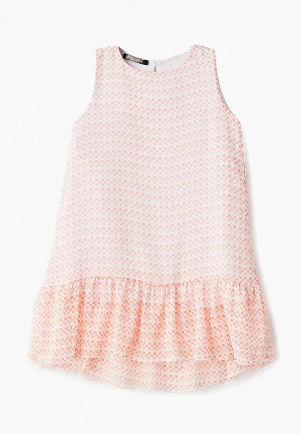 повседневные платье archyland для девочки, белое