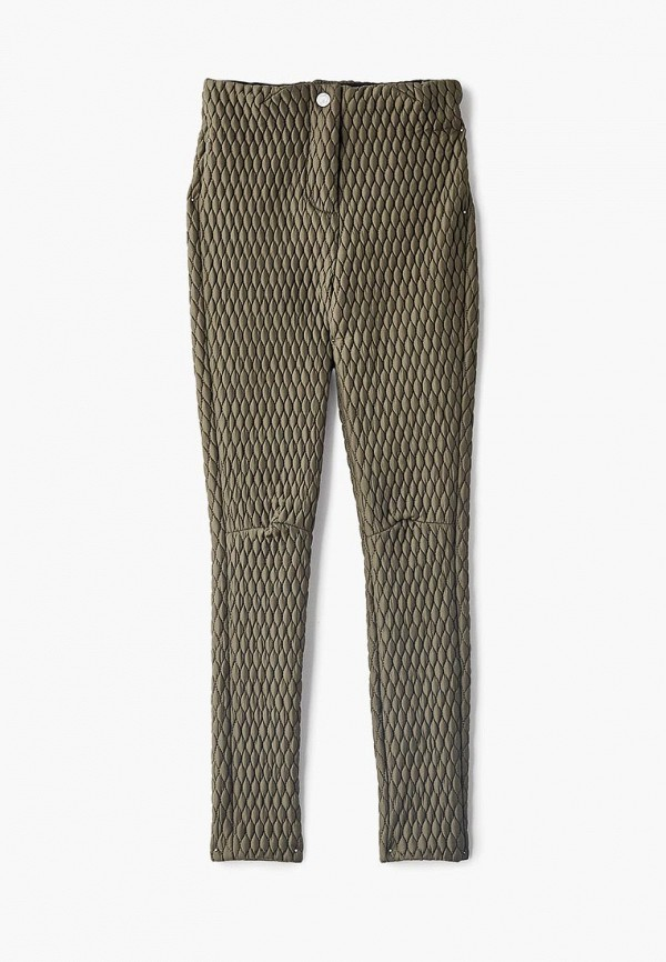 брюки princess naumi для девочки, зеленые
