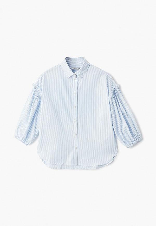 Купить Рубашка Zarina, mp002xg00glt, голубой, Весна-лето 2019