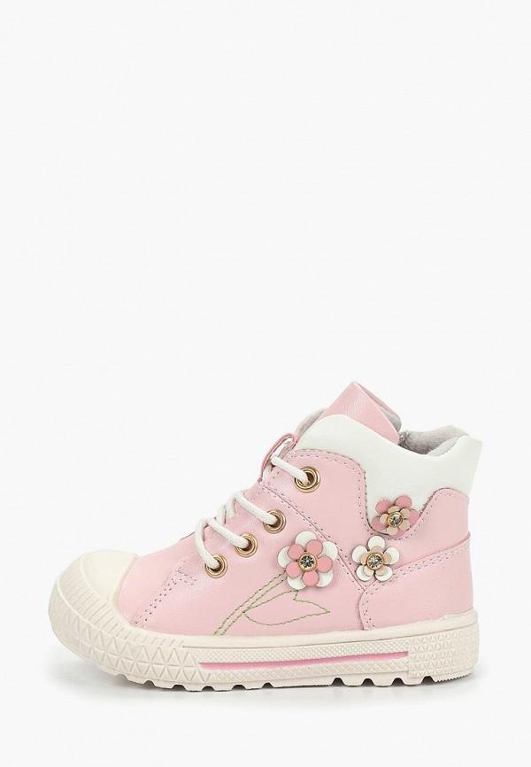 ботинки honey girl для девочки, розовые