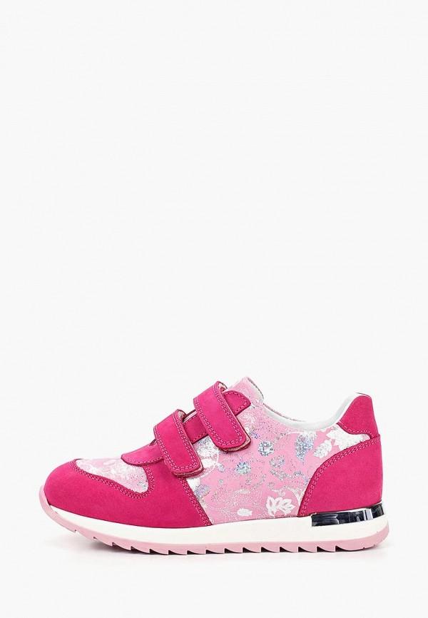 кроссовки lovely puppy для девочки, розовые