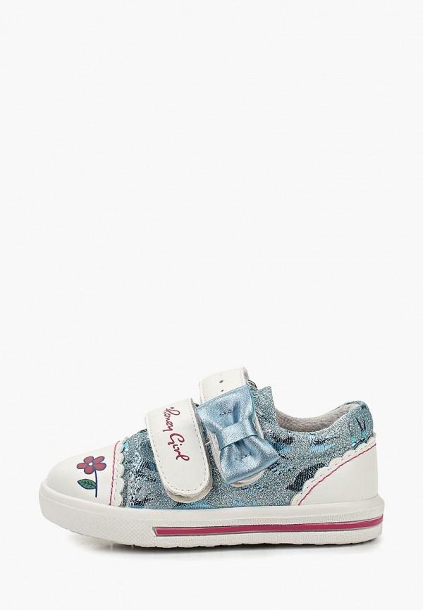 ботинки honey girl для девочки, голубые