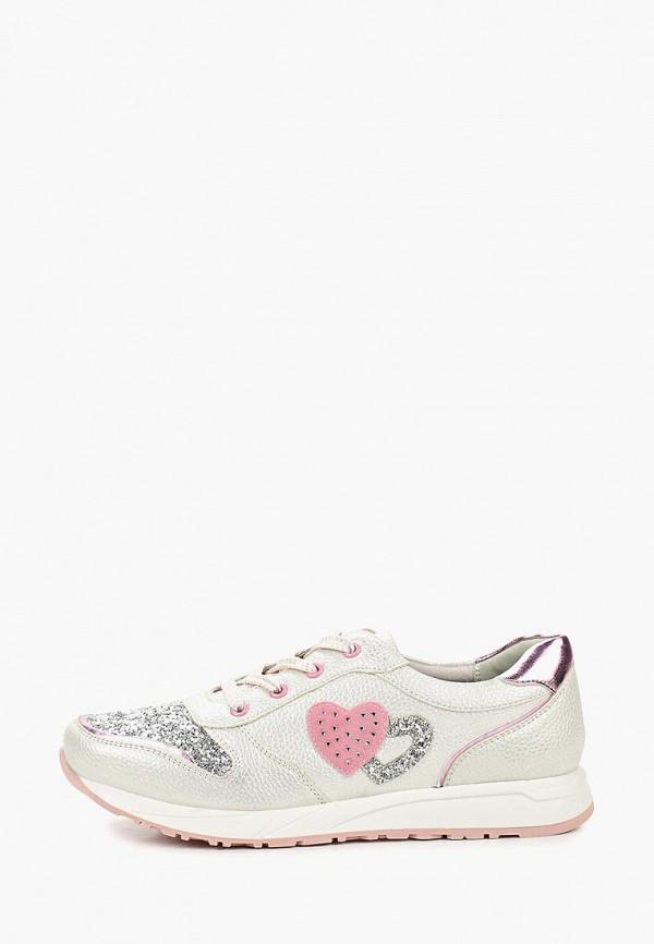 кроссовки t.taccardi для девочки, серебряные