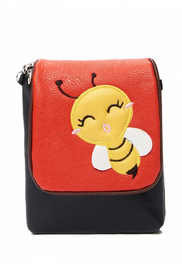 сумка mellizos для девочки, красная
