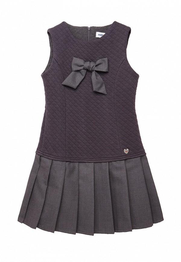 повседневные платье cookie для девочки, серое