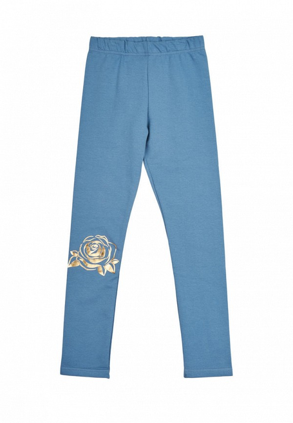 леггинсы robinzon для девочки, синие