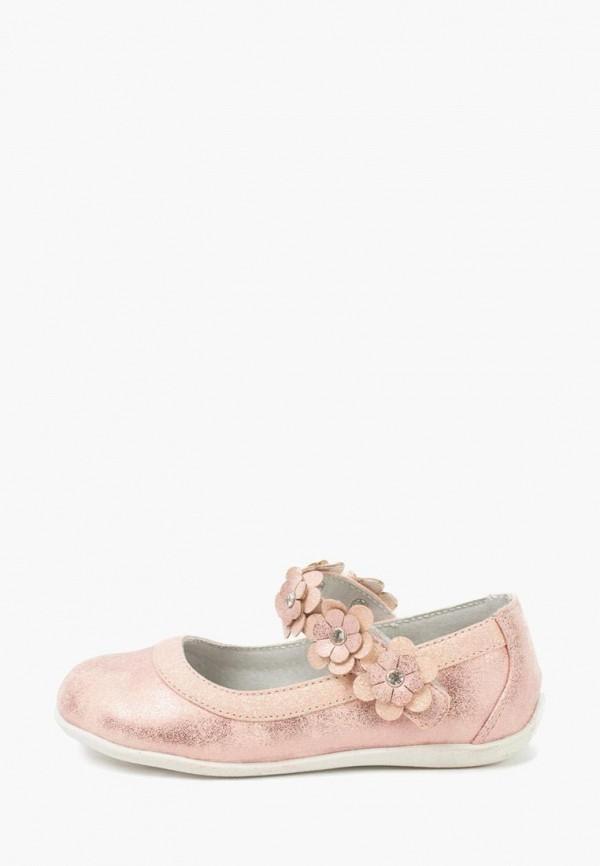 туфли playtoday для девочки, розовые
