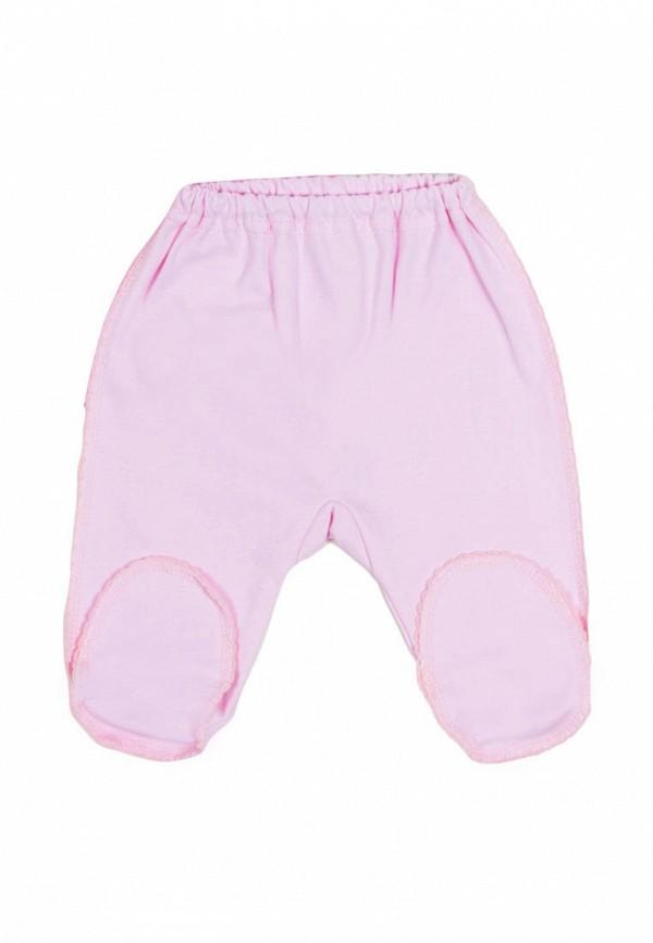 ползунки клякса для девочки, розовые