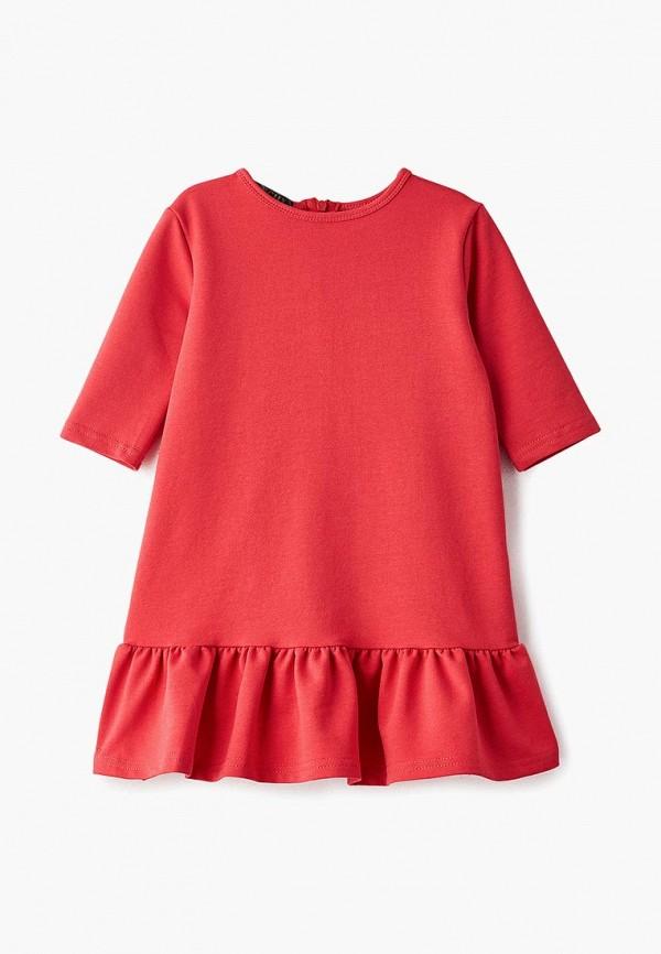 повседневные платье archyland для девочки, красное