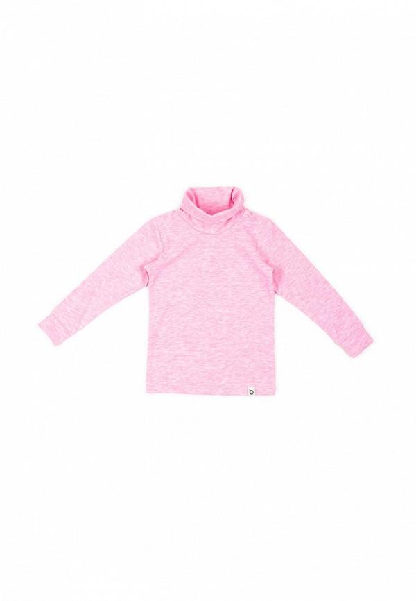 водолазка bodo для девочки, розовая