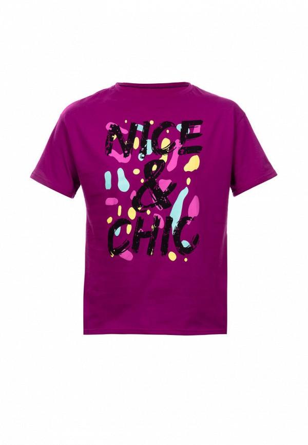 футболка с коротким рукавом elaria для девочки, фиолетовая