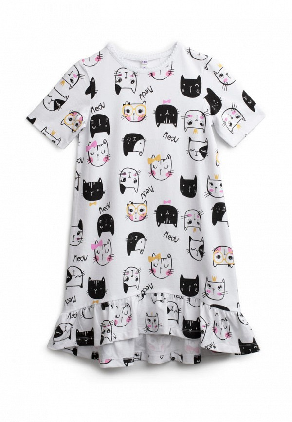 сорочка ночная playtoday для девочки, белые