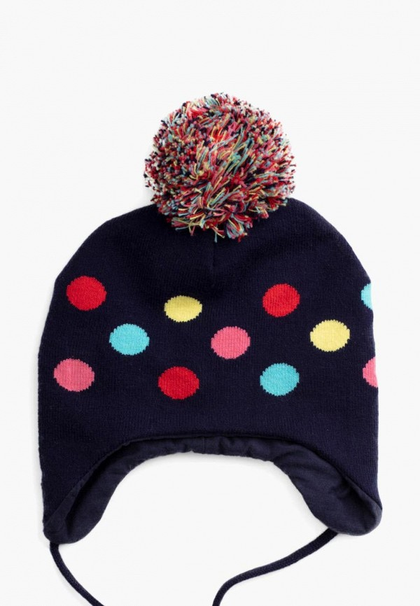 шапка playtoday для девочки, синяя