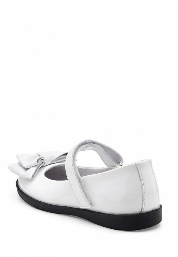 Фото 2 - Туфли Tops белого цвета