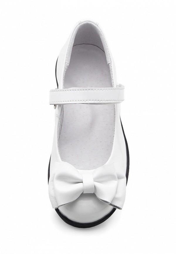 Фото 3 - Туфли Tops белого цвета